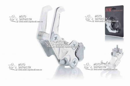 Крюк багажный сдвоенный HR серебро