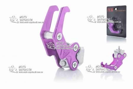 Крюк багажный сдвоенный ALH фиолетовый