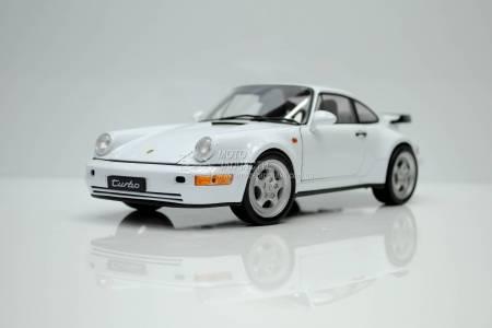 1/18 модель Porsche 911 (964) Turbo 1990 Arctic White NEX Models