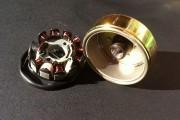 Ротор + статор GY6-150 в сборе 11 катушек