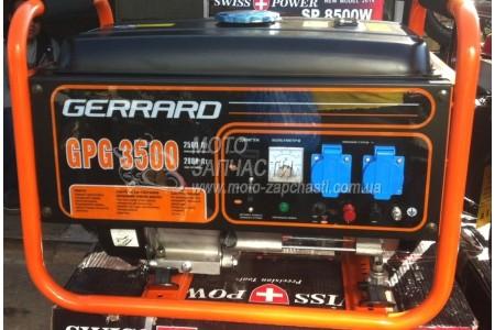Генератор бензиновый gerrard gpg 3500 отзывы gerrard