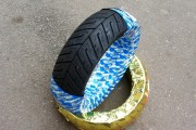 Покрышка 120/70-12 DELI Tire SB-124