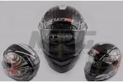 Шлем-интеграл LS-2 mod: 385 / 396 черно-красный