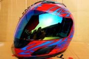 Шлем-интеграл BLD красный