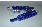 Амортизаторы Альфа h-340 мм газо-масляные синие NDT