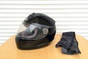 Шлем-интеграл AD черный глянец